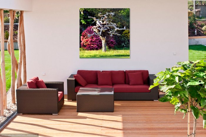 Patio Seating Area Wall Art
